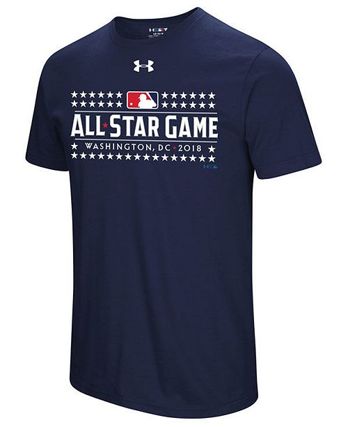 f62b7f102880 Under Armour Men s MLB All Star Game T-Shirt 2018 - Sports Fan Shop ...