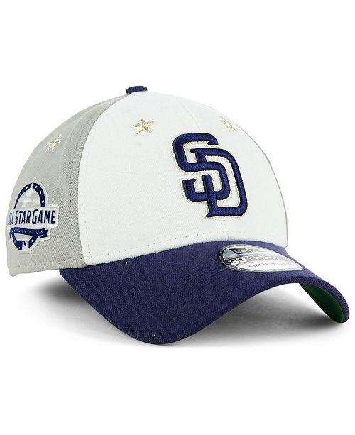 brand new 27104 bafdf New Era San Diego Padres All Star Game 39THIRTY Stretch Fitted Cap 2018 ...