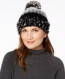 I.N.C. Mixed Yarns Beanie, Created for Macy's