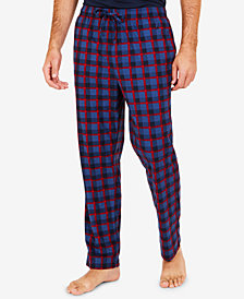 Nautica Men's Printed Fleece Pants