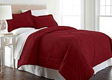 Micro Flannel® Full/Queen Solid Color Comforter Mini Set