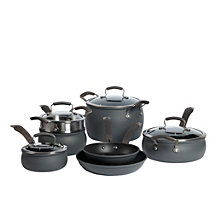 Epicurious 11-Pc. Hard Anodized Cookware Set