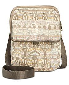Sakroots Wynnie Flap Canvas Crossbody