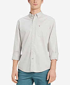 Tommy Hilfiger Men's Capote Classic Fit Shirt, Created for Macy's