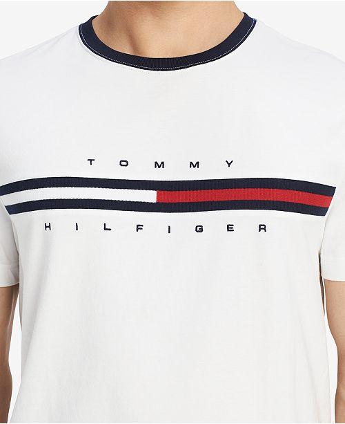 2d8f0976a78 Tommy Hilfiger Men s Big and Tall Logo-Print T-Shirt