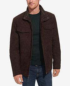 Weatherproof Men's Faux-Suede Field Military Jacket