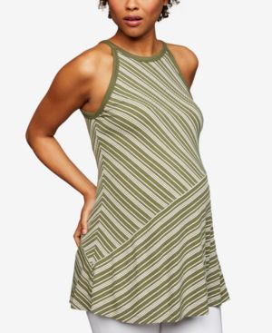 Image of A Pea In The Pod Maternity Crew-Neck Tank Top
