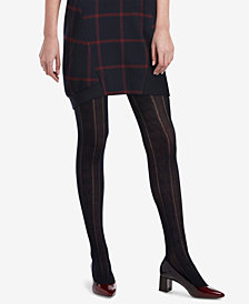 HUE® Cable-Knit Sweater Tights