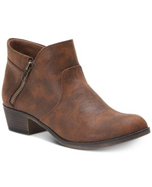 Image of American Rag Abby Ankle Booties, Created for Macy's Women's Shoes