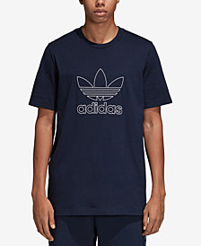 adidas Men's Originals Adicolor Outline-Logo T-Shirt