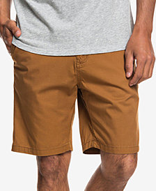 Quiksilver Men's Minor Classic-Fit Twill Chino Shorts