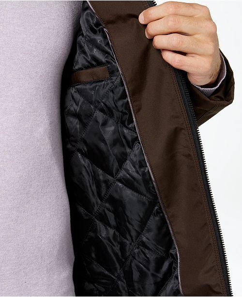 77277fb25 Men's Full-Zip Stand-Collar Lightweight Jacket