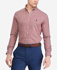 Polo Ralph Lauren Men's Big & Tall Classic Fit Cotton Gingham Shirt