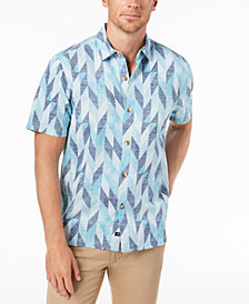 Tommy Bahama Men's Geo Celeste Camp Shirt