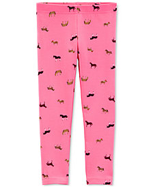 Carter's Toddler Girls Horse Leggings