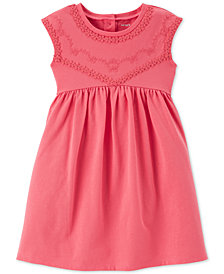 Carter's Toddler Girls Coral Babydoll Dress
