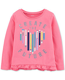 Carter's Toddler Girls Create the Future Graphic Top