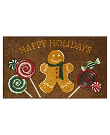 "LAST ACT! Nourison Gingerbread 18"" x 30"" Accent Rug"