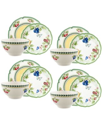 Villeroy U0026 Boch French Garden Beaulieu 12 Pc. Dinnerware Set, Service For  4, Created For Macyu0027s   Dinnerware   Dining U0026 Entertaining   Macyu0027s