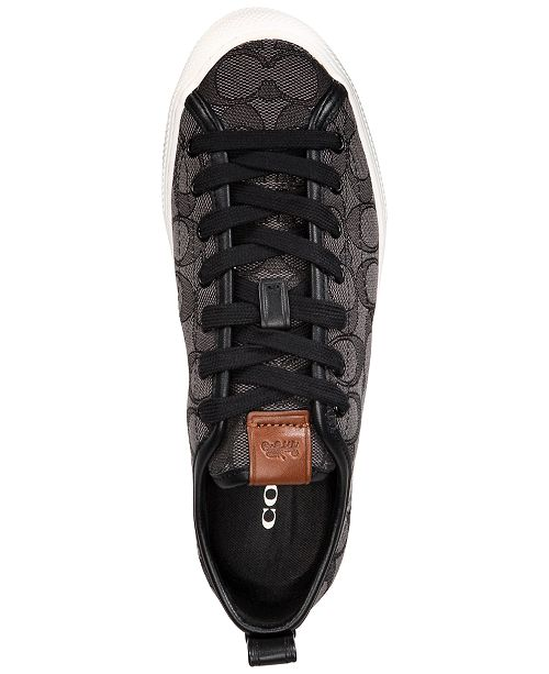0df9a5c59e33 COACH Jacquard Signature Fashion Sneakers   Reviews - Sneakers ...