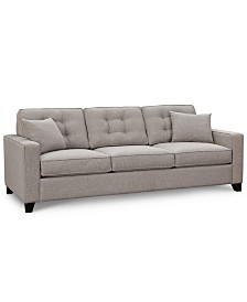 "Clarke II 93"" Fabric Estate Sofa, Created for Macy's"