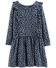 Carter's Little & Big Girls Printed Ruffle Dress