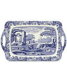 Spode Blue Italian Large Melamine Tray