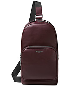 Michael Kors Men's Leather Slingpack