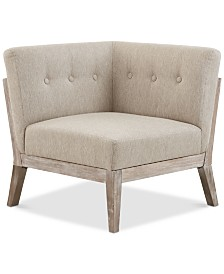 Orlando Corner Chair, Quick Ship