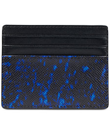 Michael Kors Men's Kent Printed Card Case