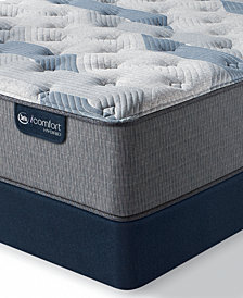 "iComfort by Serta Blue Fusion 200 13.5"" Hybrid Plush Mattress Set - Queen Split"