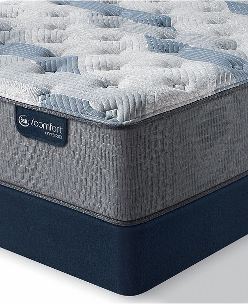 "Serta iComfort by Blue Fusion 200 13.5"" Hybrid Plush Mattress Set - King"