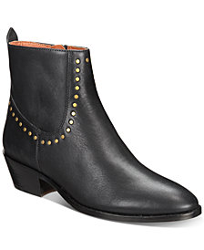 COACH Eva Stacked-Heel Booties
