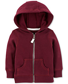 Carter's Baby Boys Full-Zip Hooded Sweatshirt