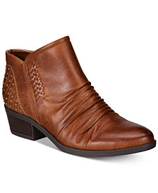 Baretraps Gericka Pointed-Toe Western Booties