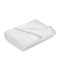 CLOSEOUT! Charter Club Damask Designs Cotton Bed Blanket