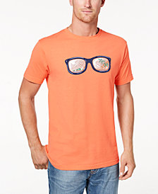 Club Room Men's Sunglasses Graphic T-Shirt, Created for Macy's