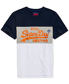 Superdry Men's Vintage Graphic-Print Cotton T-Shirt