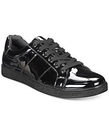 I.N.C. Men's Spyke Patent Lace-Ups, Created for Macy's