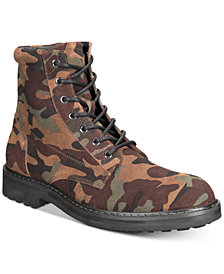 I.N.C. Men's Wilder Camo Boots, Created for Macy's