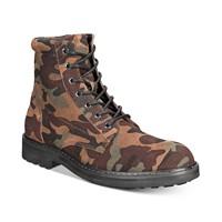 I.N.C. Men's Wilder Camo Boots (Green)