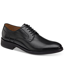 Johnston & Murphy Men's Carlson Plain-Toe Derby Oxfords