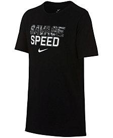 Nike Big Boys Speed-Print T-Shirt