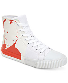 Calvin Klein Jeans Men's Iconic Warhol Print Sneakers