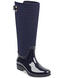 Tommy Hilfiger Women's Fhibe Rain Boots