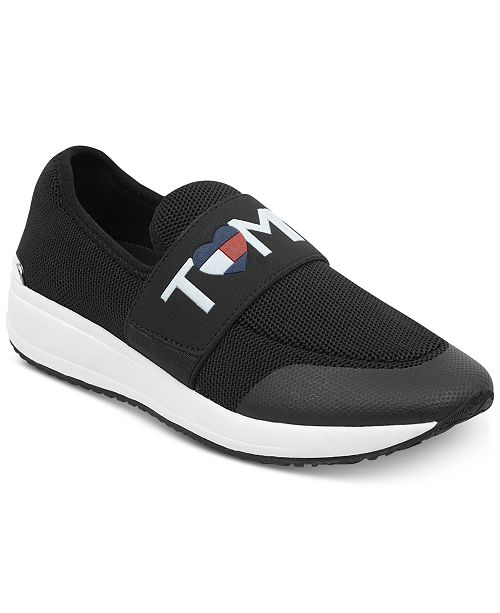 015c6a9a30f6 Tommy Hilfiger Women s Rosin Slip-On Fashion Sneakers   Reviews ...