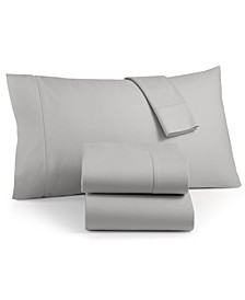 Luxury 100% Cotton Flannel 4-Pc. Full Sheet Set, Created for Macy's
