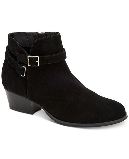 60d277b73d172 Giani Bernini Dorii Memory-Foam Ankle Booties, Created for Macy's ...