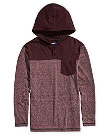 Univibe Big Boys Pocket Hooded Henley