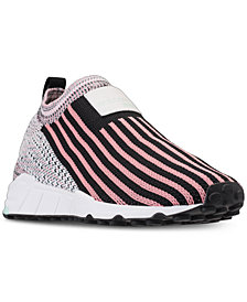 adidas Women's Originals EQT Support RF Sock Primeknit Casual Sneakers from Finish Line